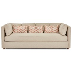 Monroe Sofa Patio Sectional Klaussner Contemporary With Bench Seat