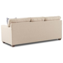Klaussner Sleeper Sofa Mattress Options Use Laptop Tables Nolan Contemporary 3 Seat With