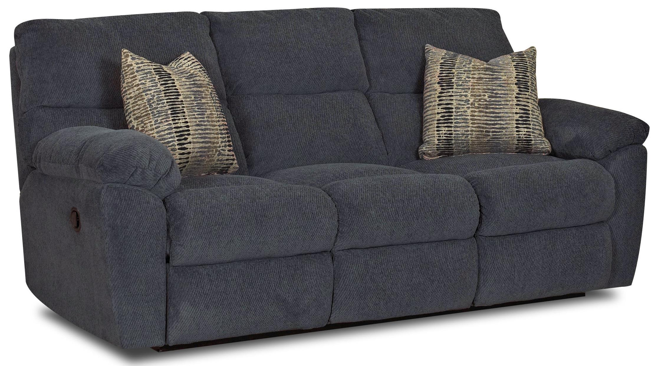 klaussner grand power reclining sofa maverick leather reviews odessa casual with pillow