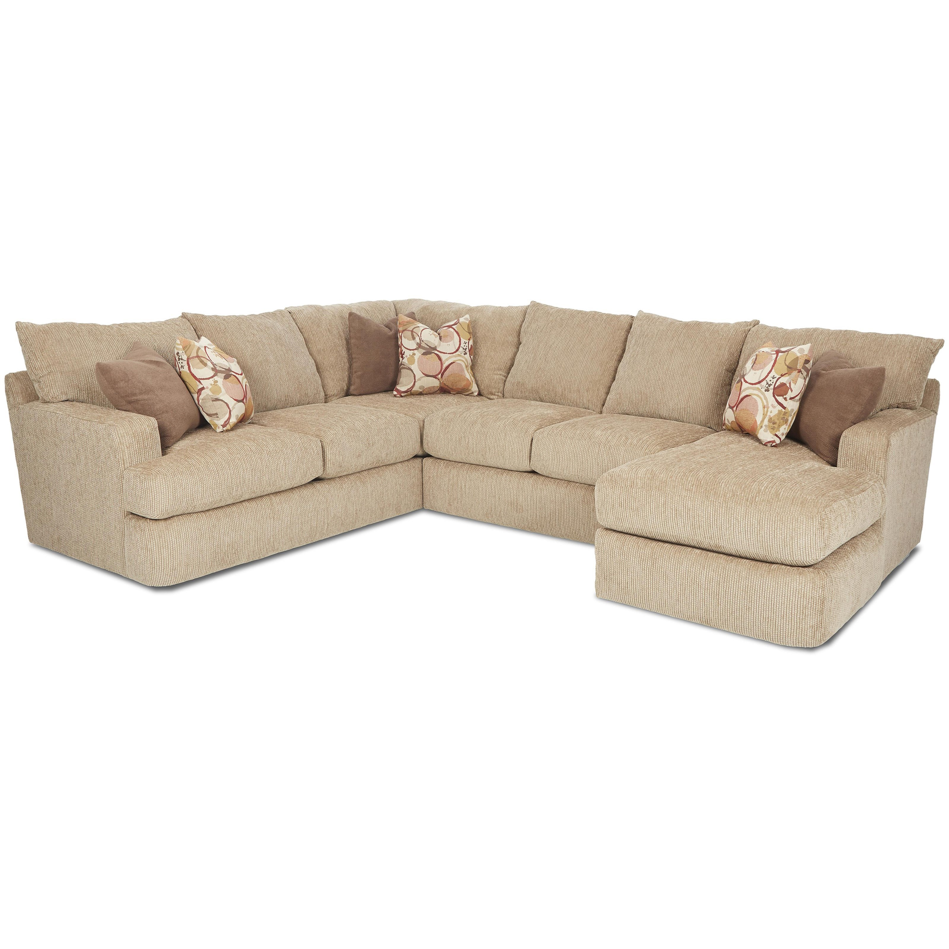 klaussner sofa and loveseat set high quality bed mattress oliver contemporary three piece sectional