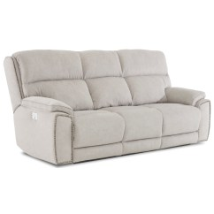 Omaha Sofa For Sale By Owner 999 Hamilton Ontario Klaussner Power Nailhead Reclining With