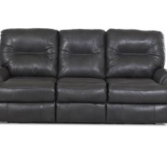 Klaussner Grand Power Reclining Sofa Ashley Signature Design Leather Roadster Traditional