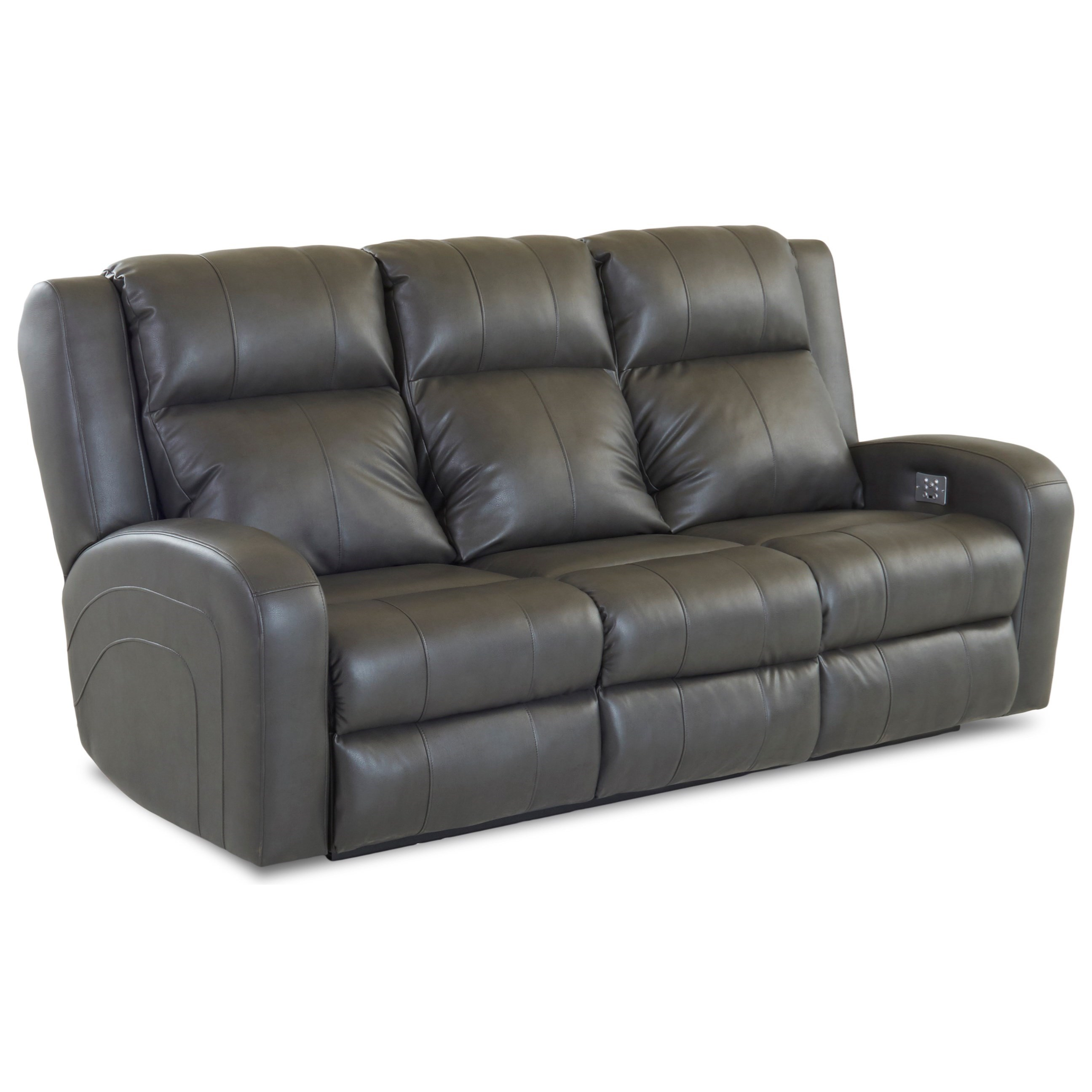 klaussner grand power reclining sofa conversational cover robinson casual with