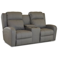 Klaussner Grand Power Reclining Sofa Hong Kong Leather Robinson Casual Loveseat With