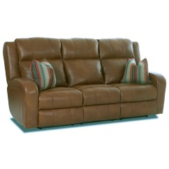 Robinson And Leather Sofa English Manufacturers Klaussner Power Reclining With