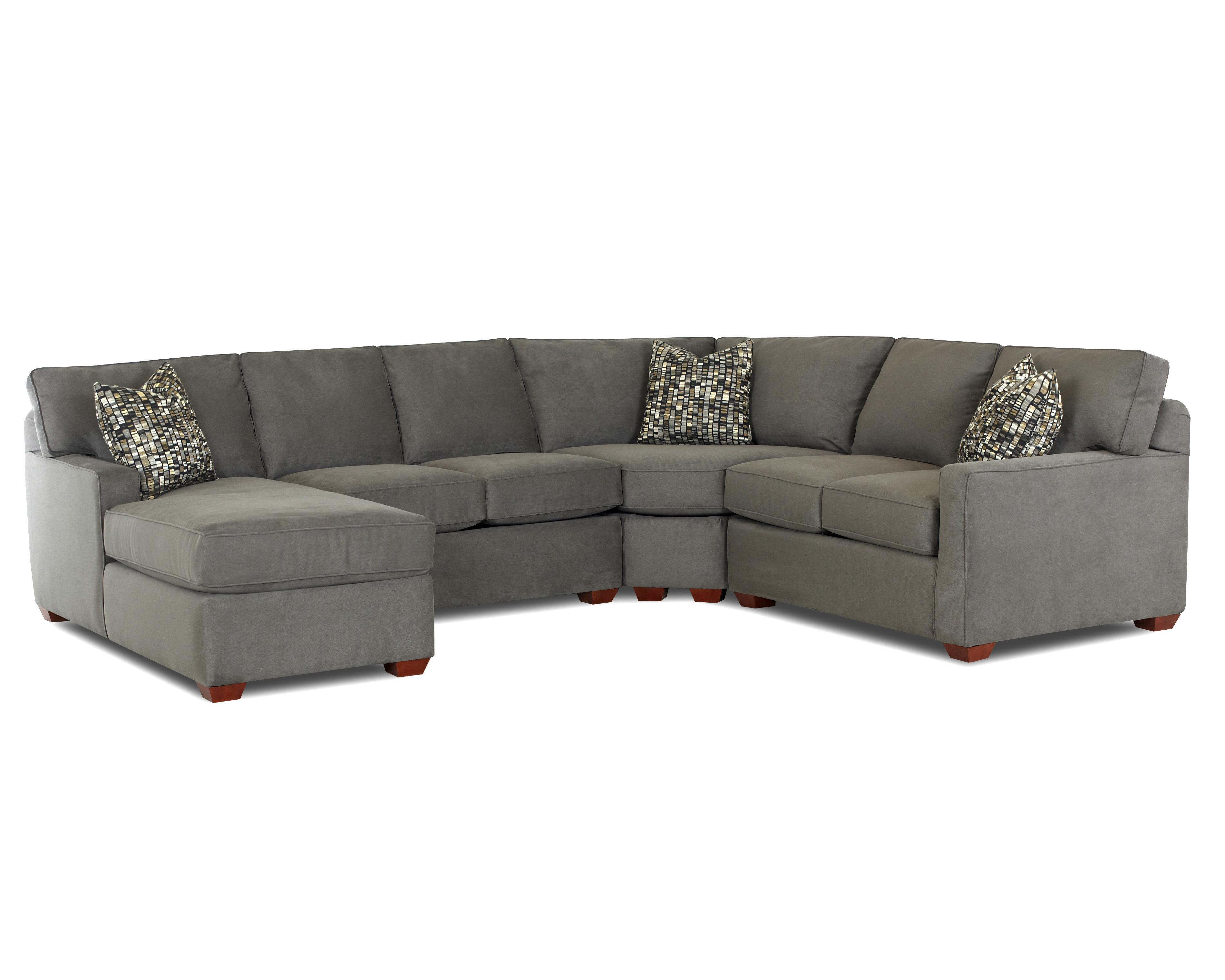 left arm sofa sectional sectionals indianapolis klaussner selection contemporary l shaped