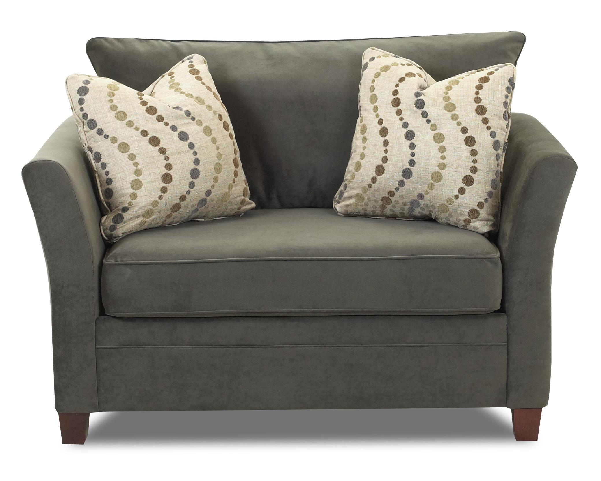 Comfy Oversized Chair Klaussner Taylor Contemporary Chair And A Half H L