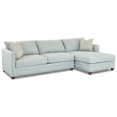 Klaussner Sleeper Sofa Mattress Options Outdoor Cushions Tilly Two Piece Sectional With Laf