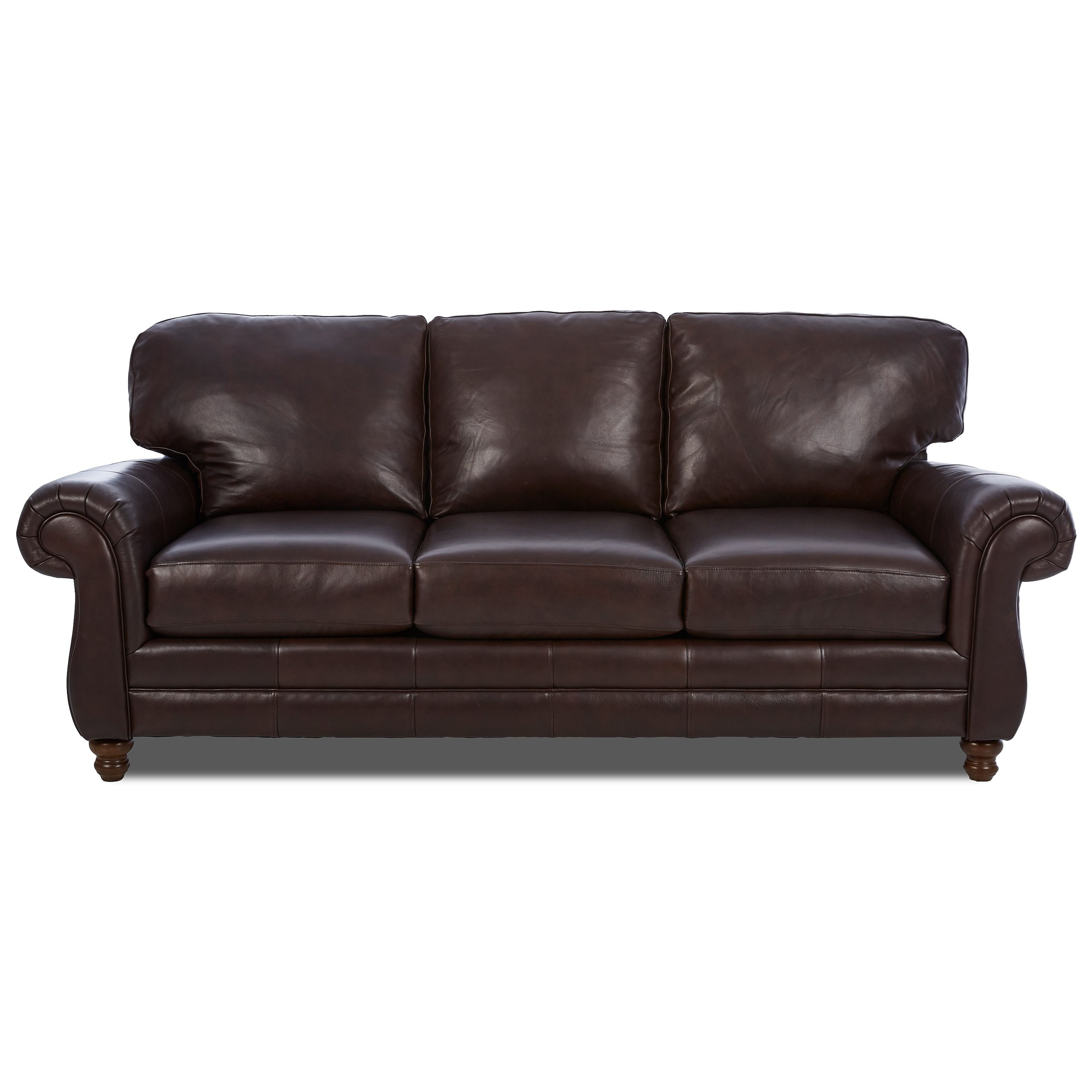 chelsea leather sofa pottery barn comfort sectional w rolled arms rotmans sofas
