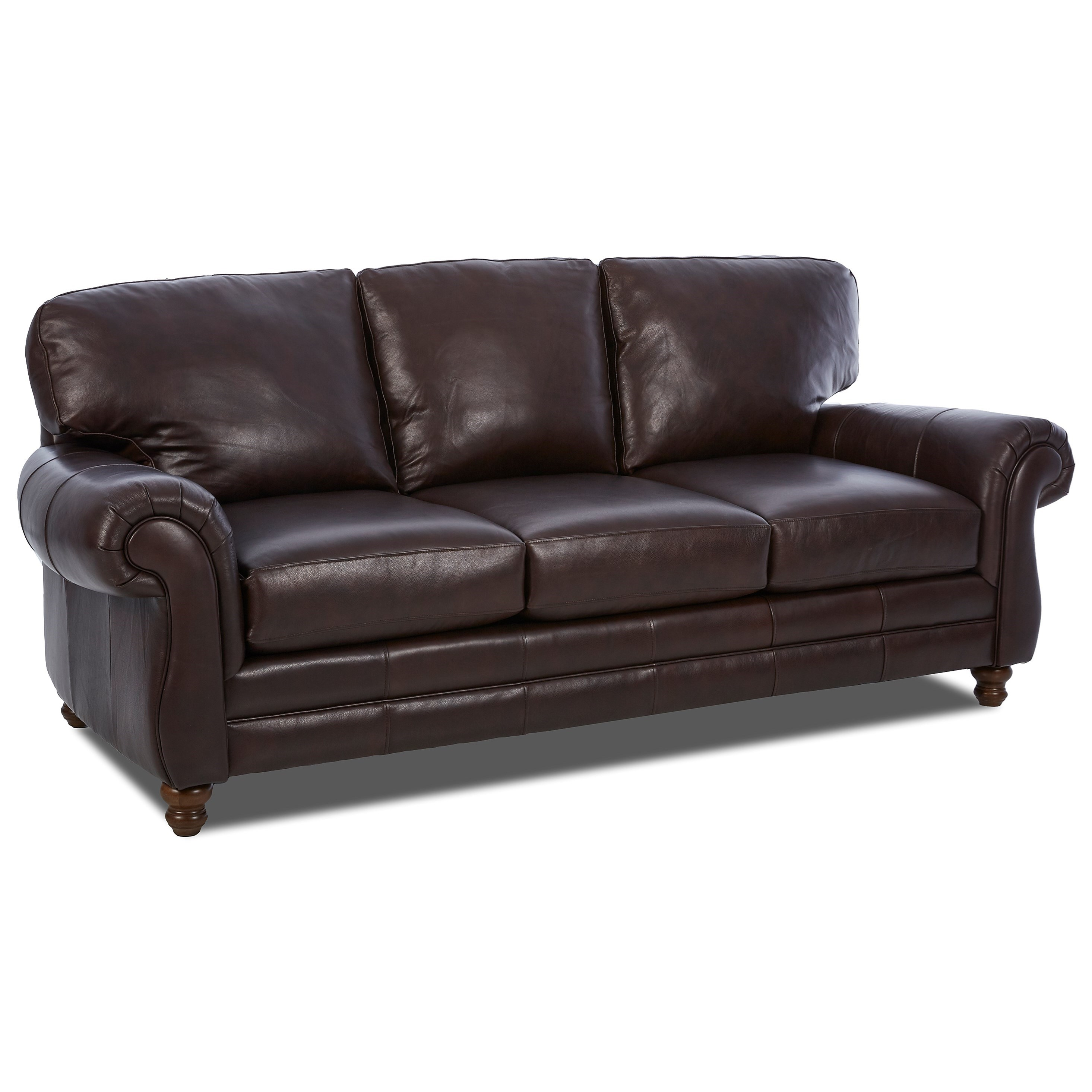 chelsea leather sofa curved sectional with chaise w rolled arms rotmans sofas