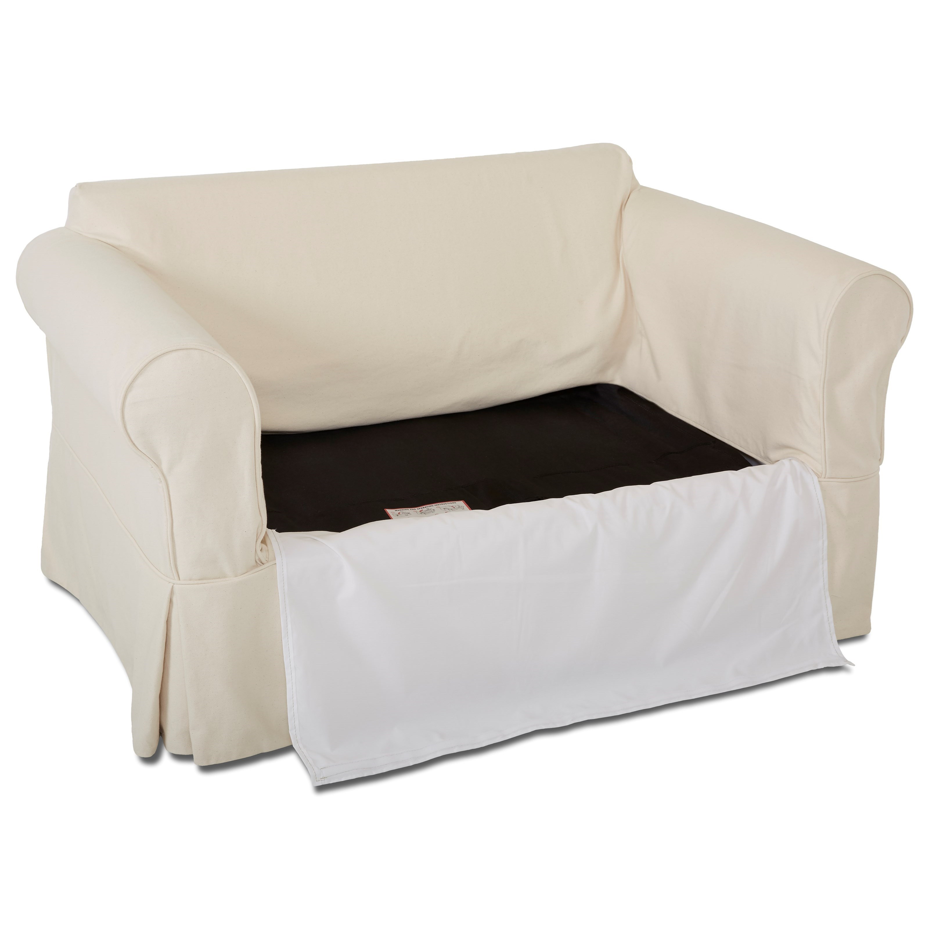 twin sleeper chair slipcover oversized lawn klaussner victoria with