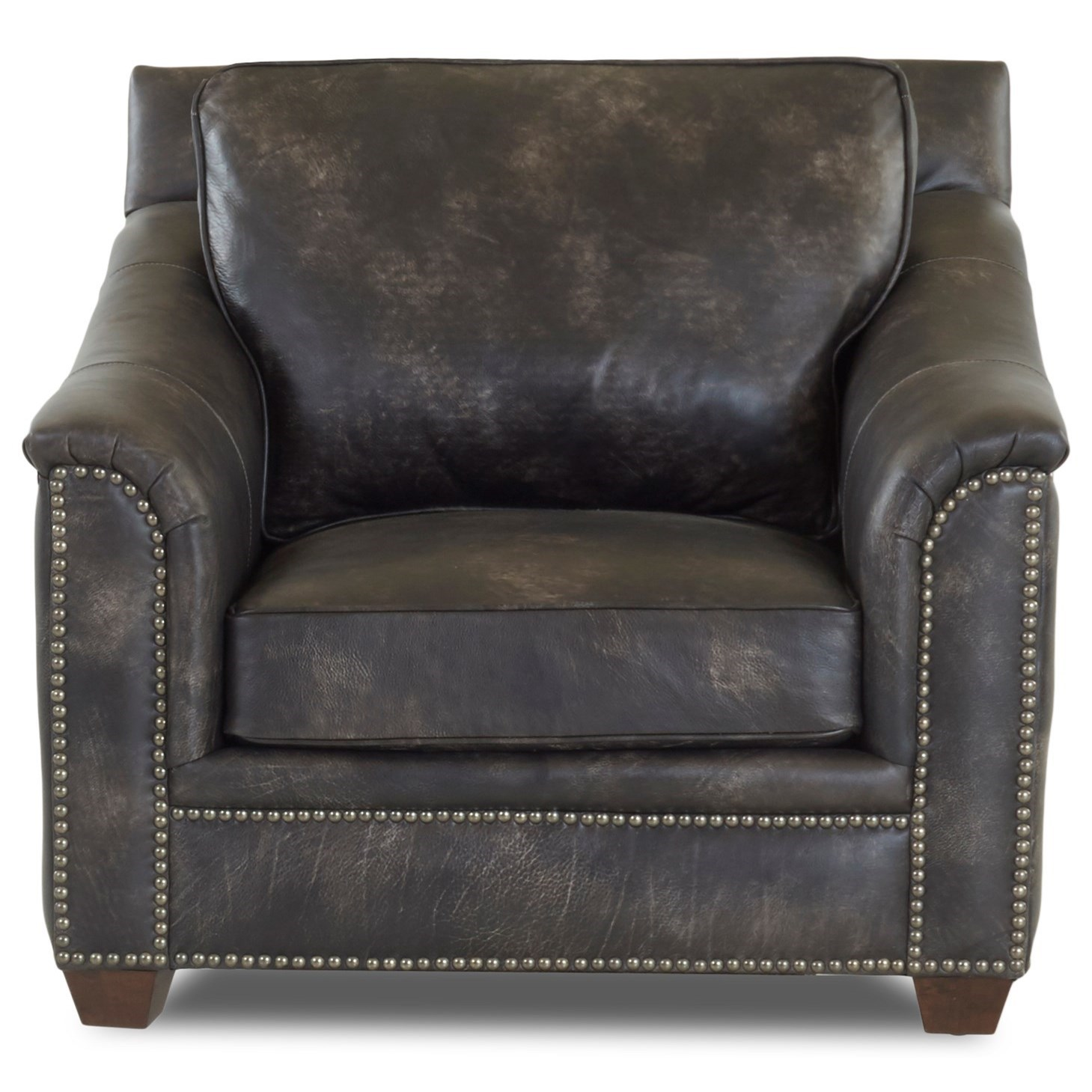 leather chair ottoman set with storage klaussner wilkesboro and
