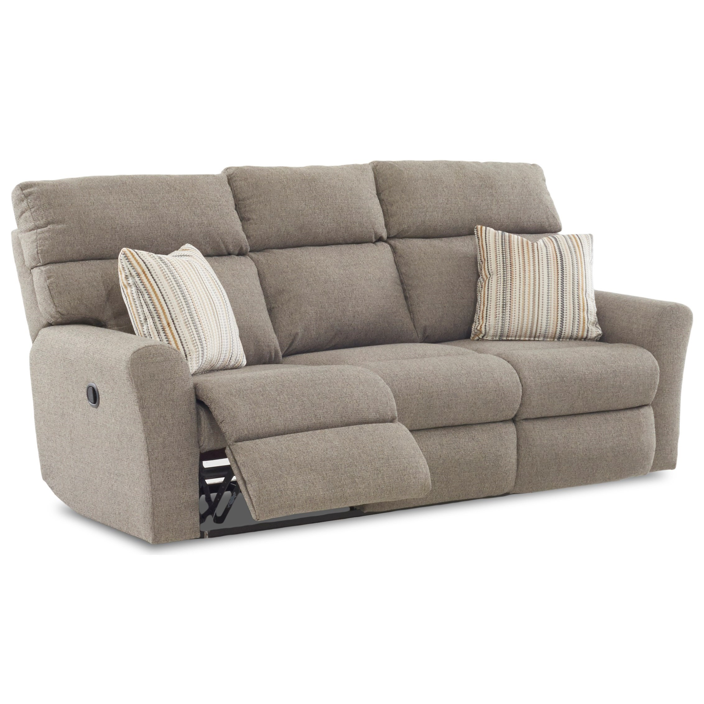 klaussner grand power reclining sofa austin tx xavier 48403p pw3rs casual three recliner