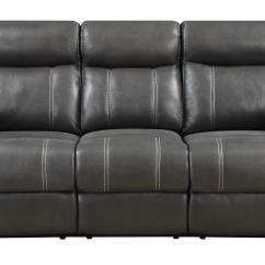 Klaussner Sofa And Loveseat Set Blue Sofas Reclining Domino Carbon Console