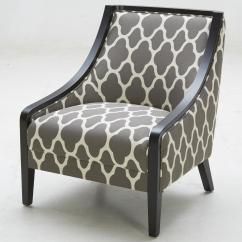 Traditional Accent Chairs Silver Spandex Chair Covers Kuka Home A 825 With Exposed Wood