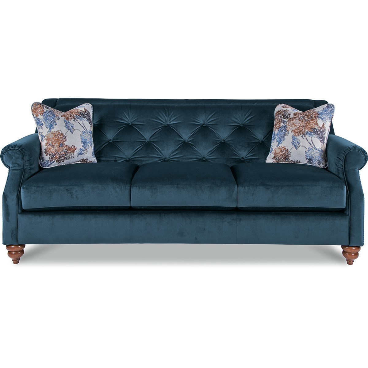 upholstery of sofa rolf benz gebraucht la z boy aberdeen traditional with tufted seatback