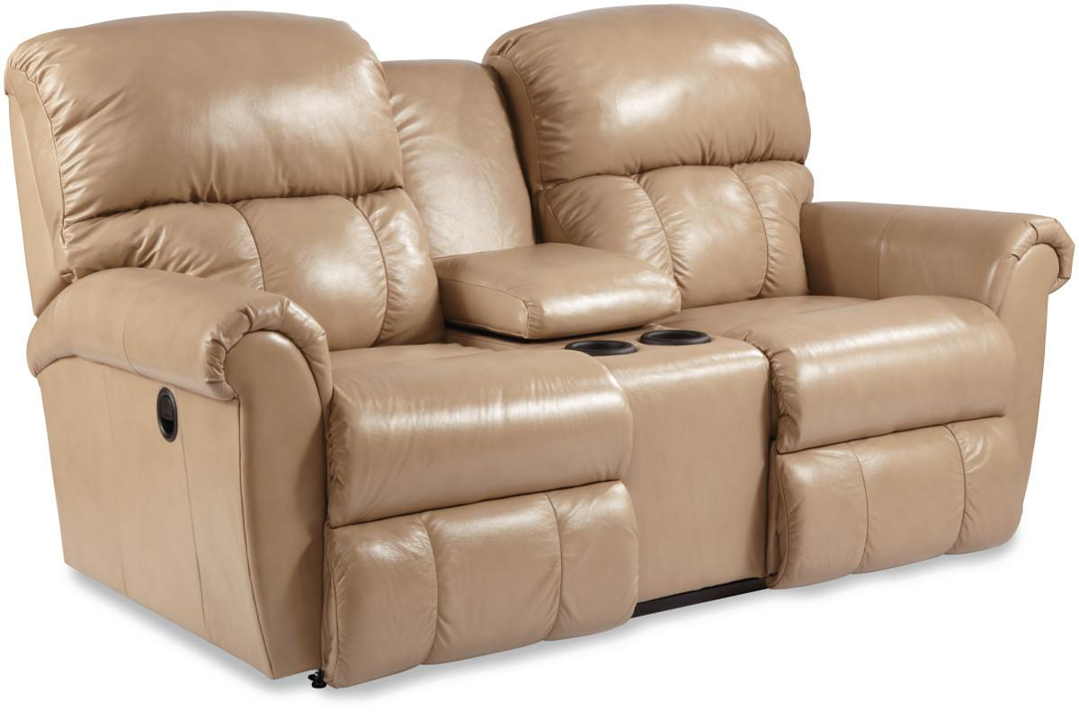 dual reclining sofa and loveseat leather city furniture briggs recline console by la z boy wolf