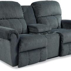 Two Cushion Power Reclining Sofa Pink Mini Briggs Dual Recline Console Loveseat By La Z Boy