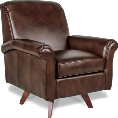 La Z Boy Swivel Chair Banded Blind Tall Chairs Ronnie High Leg With