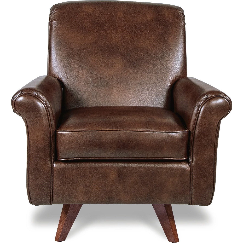 la z boy swivel chair nuna high reviews chairs ronnie leg with