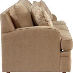 La Z Boy Diana Sleeper Sofa Decorative Pillows Transtional Supreme Comfort Queen Sleep