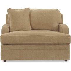 La Z Boy Diana Sleeper Sofa Flexsteel Leather Care Transitional Supreme Comfort Twin Sleep