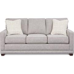 Comfortable Queen Sleeper Sofa Square Wooden Feet Uk La Z Boy Kennedy Transitional Supreme Comfort Sleep