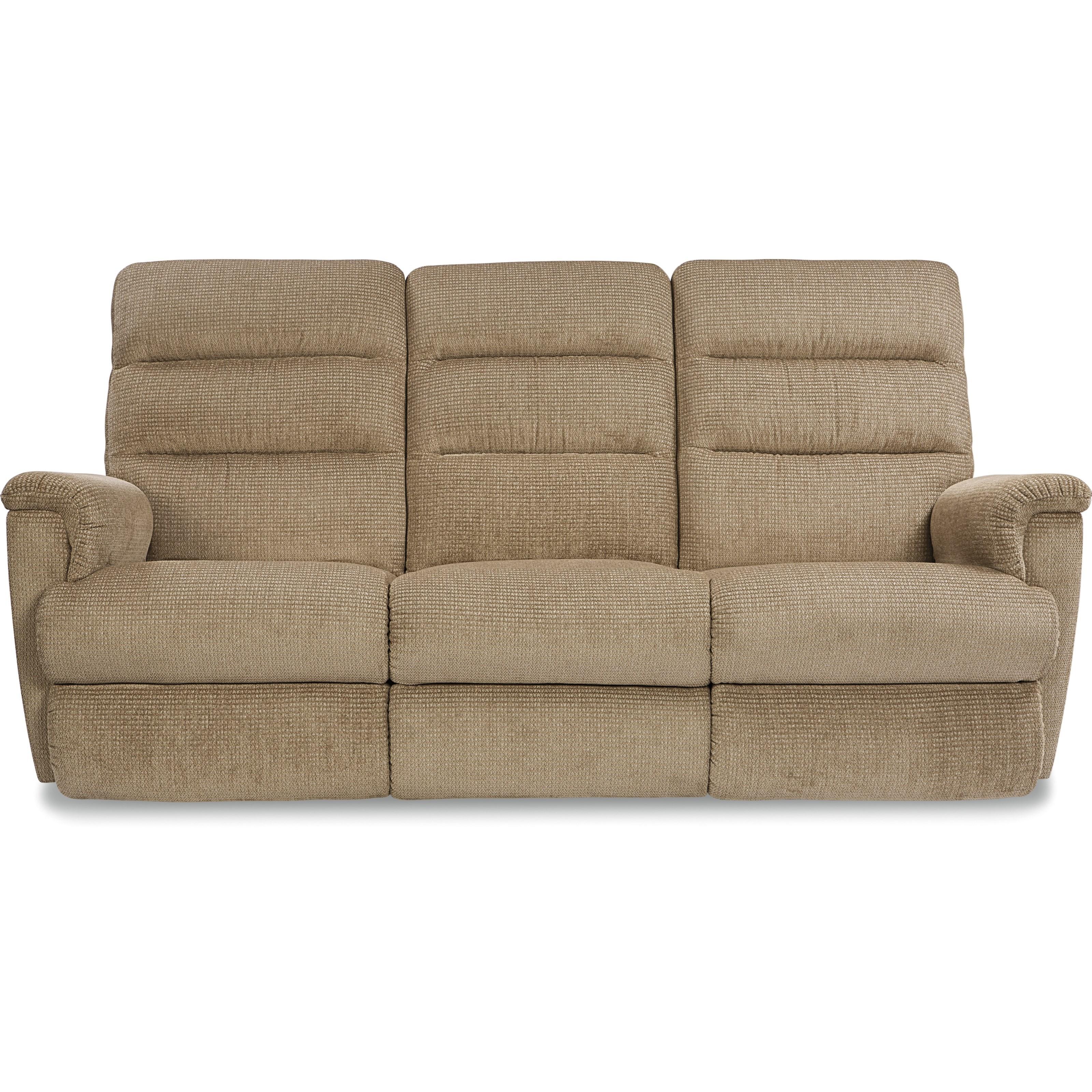 cream colored microfiber sofa antique french provincial and chair la z boy tripoli casual power recline xrw wall saver