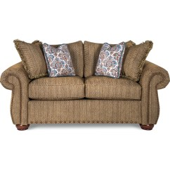 Sofa Sofas Wales Cloud Loaf La Z Boy Traditional Loveseat With Rolled Arms And