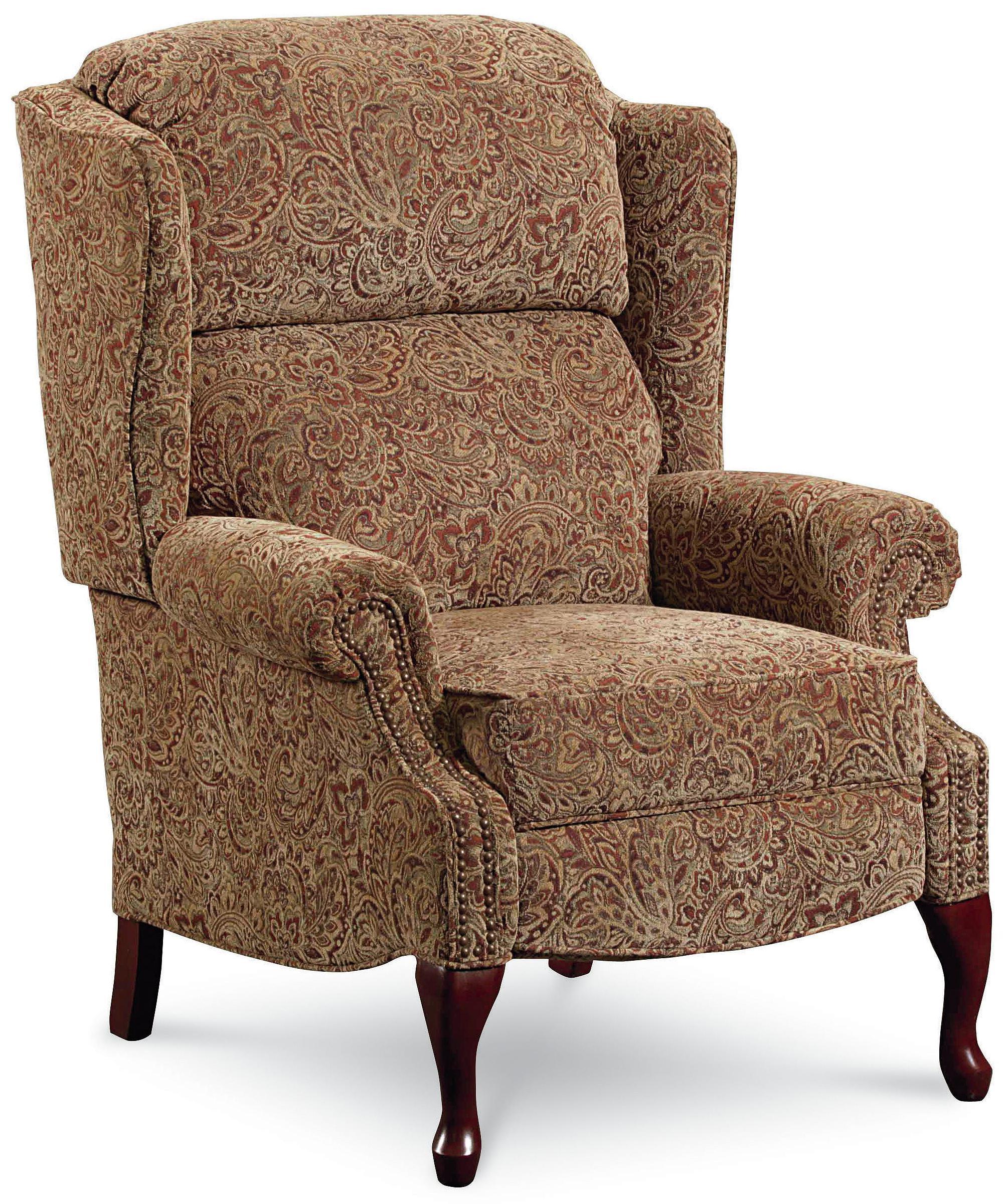 High Leg Wing Back Recliner Chair