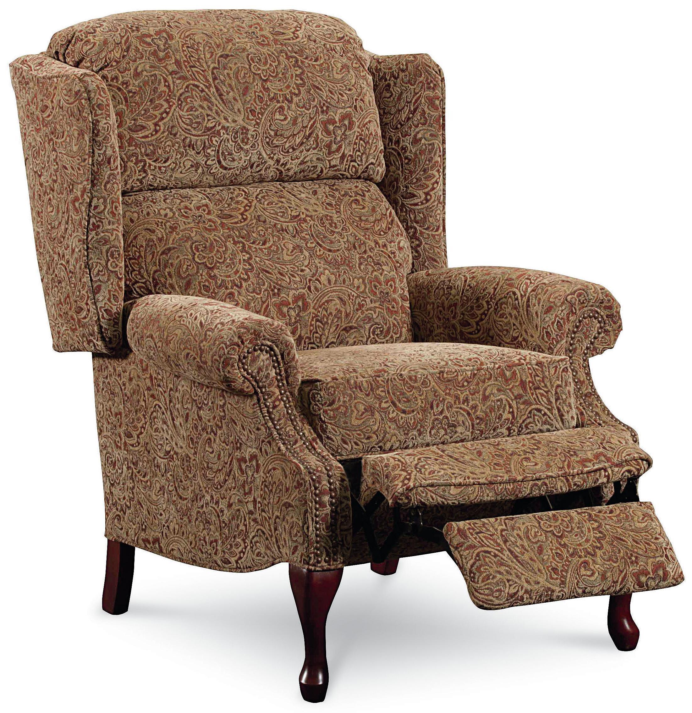 wing back chair recliner dining chairs on wheels lane hi leg recliners 2530 savannah high