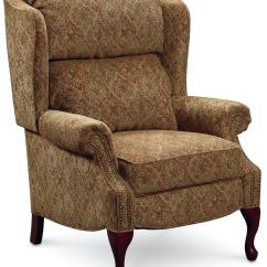 Wing Back Chair Recliner Dining Room Covers With Arms Lane Hi Leg Recliners 2530 Savannah High