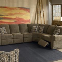 4 Piece Recliner Sectional Sofa Next Garda Bed Dimensions Lane Megan Powerized Reclining