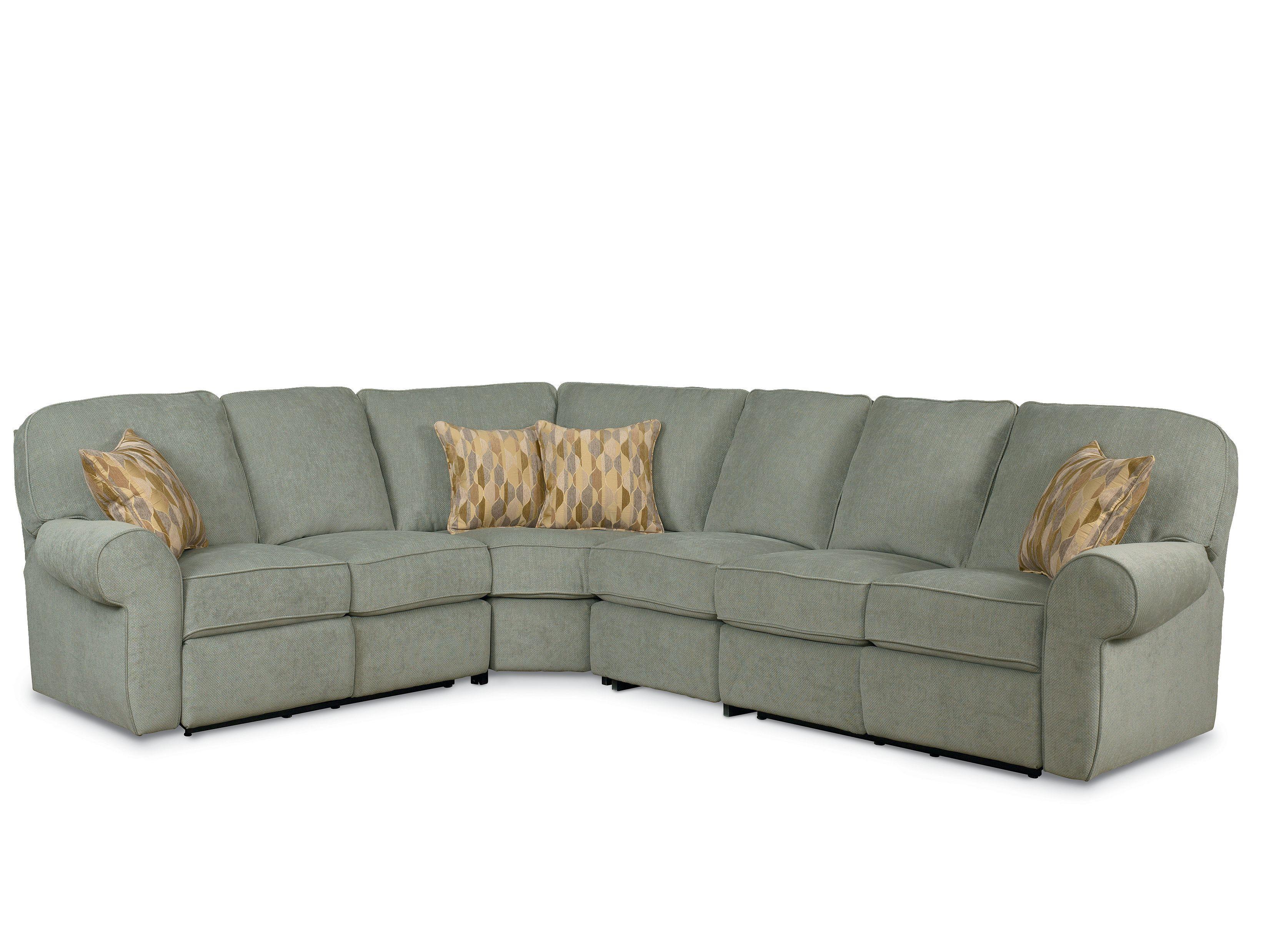4 piece recliner sectional sofa metal glider lane megan powerized nassau