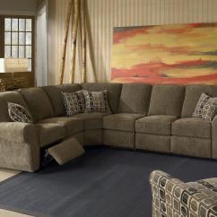 4 Piece Recliner Sectional Sofa Mini Corner Lane Megan Powerized Nassau