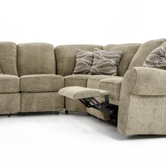 3 Pc Sectional Sofa With Recliners Mission Sleeper Lane Megan Piece Baer 39s Furniture
