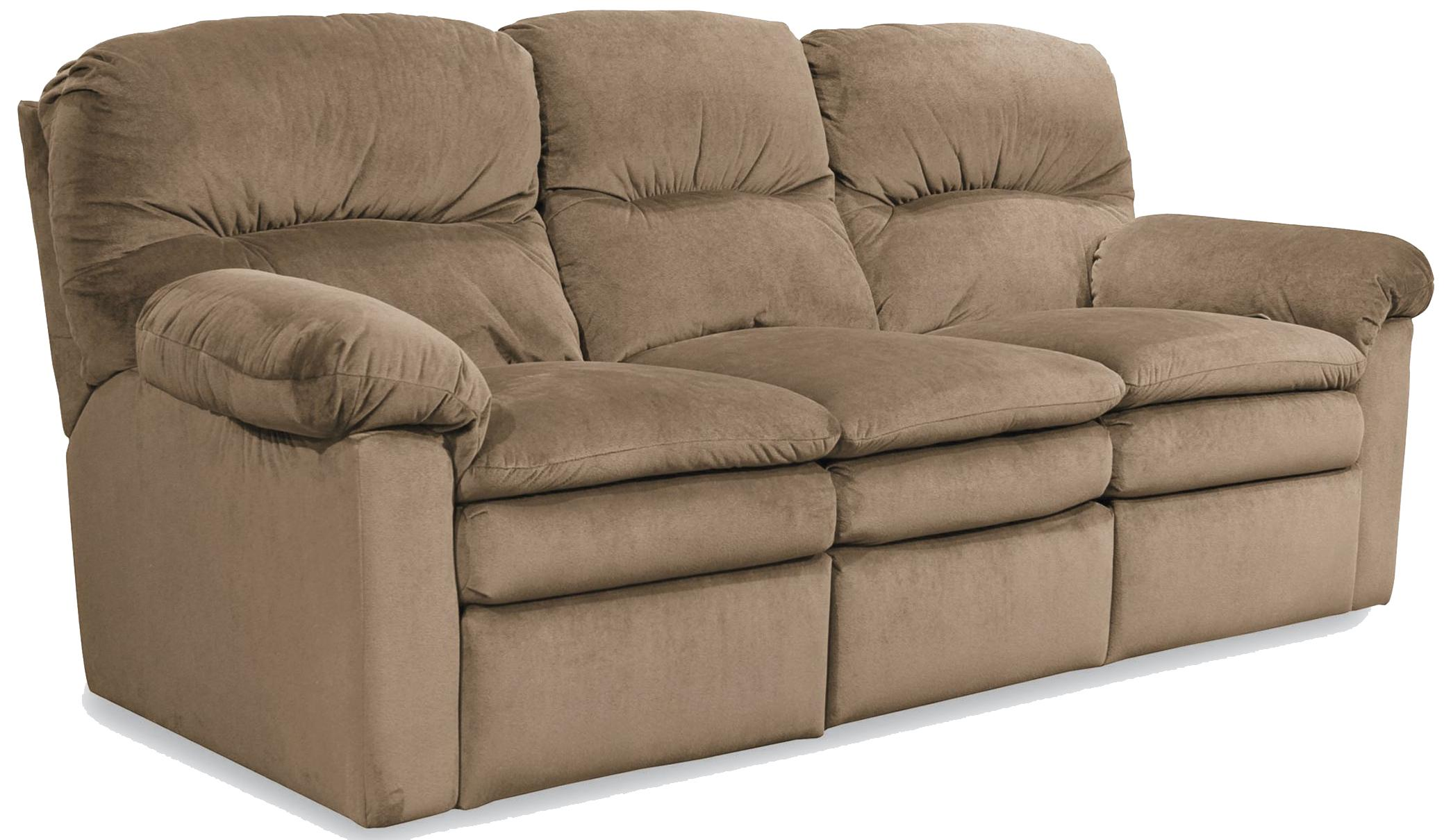 lane triple reclining sofa cushions replacement foam touchdown double lindy 39s furniture