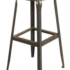 Backless Chair Height Stool Used Wheel Largo Abbey 24 Quot Counter Olinde 39s