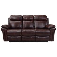 Power Reclining Sofa Made In Usa Standard Length Leather Italia Shae Joplin