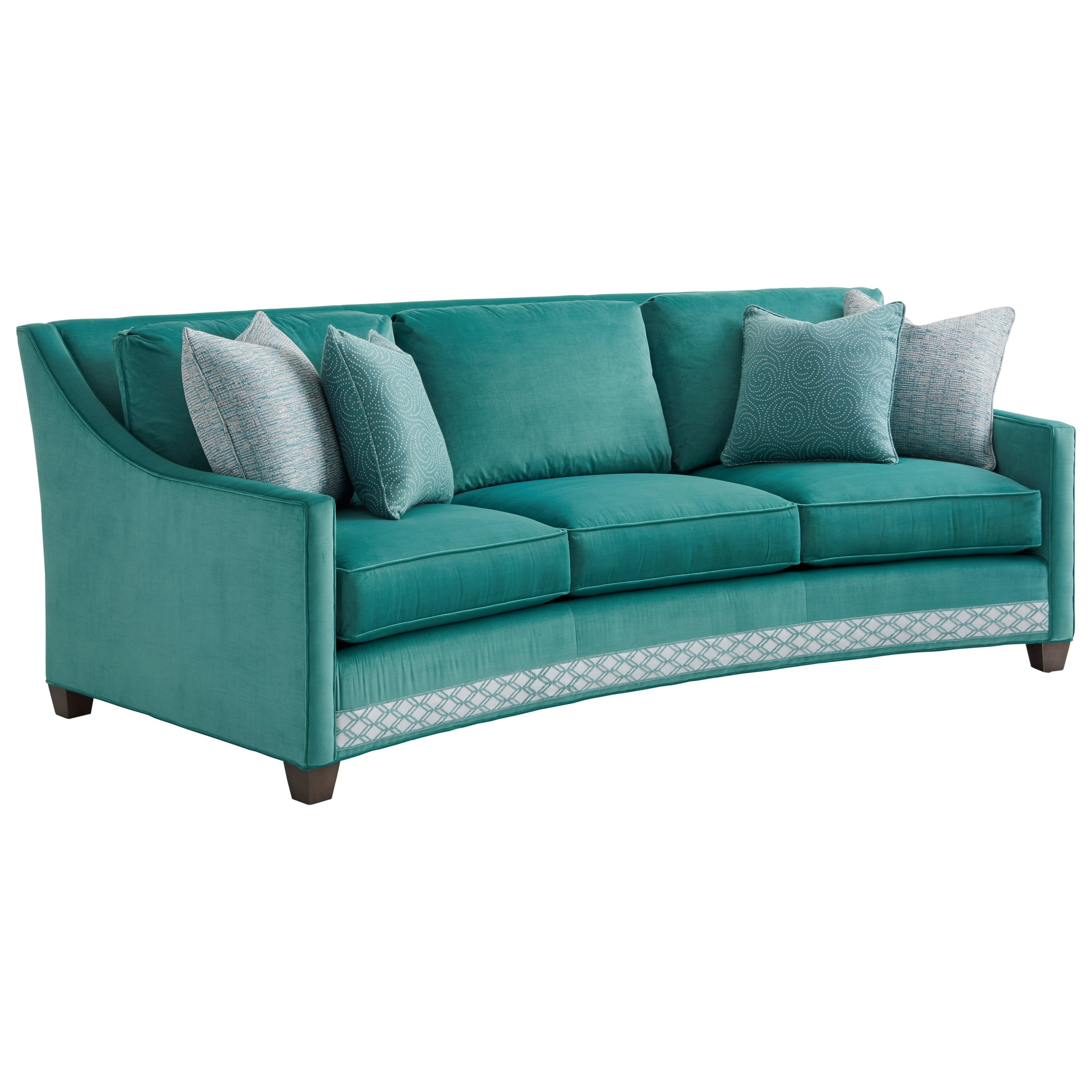 conversational sofa cover tan leather bed australia lexington ariana 7931 33 valenza curved john v
