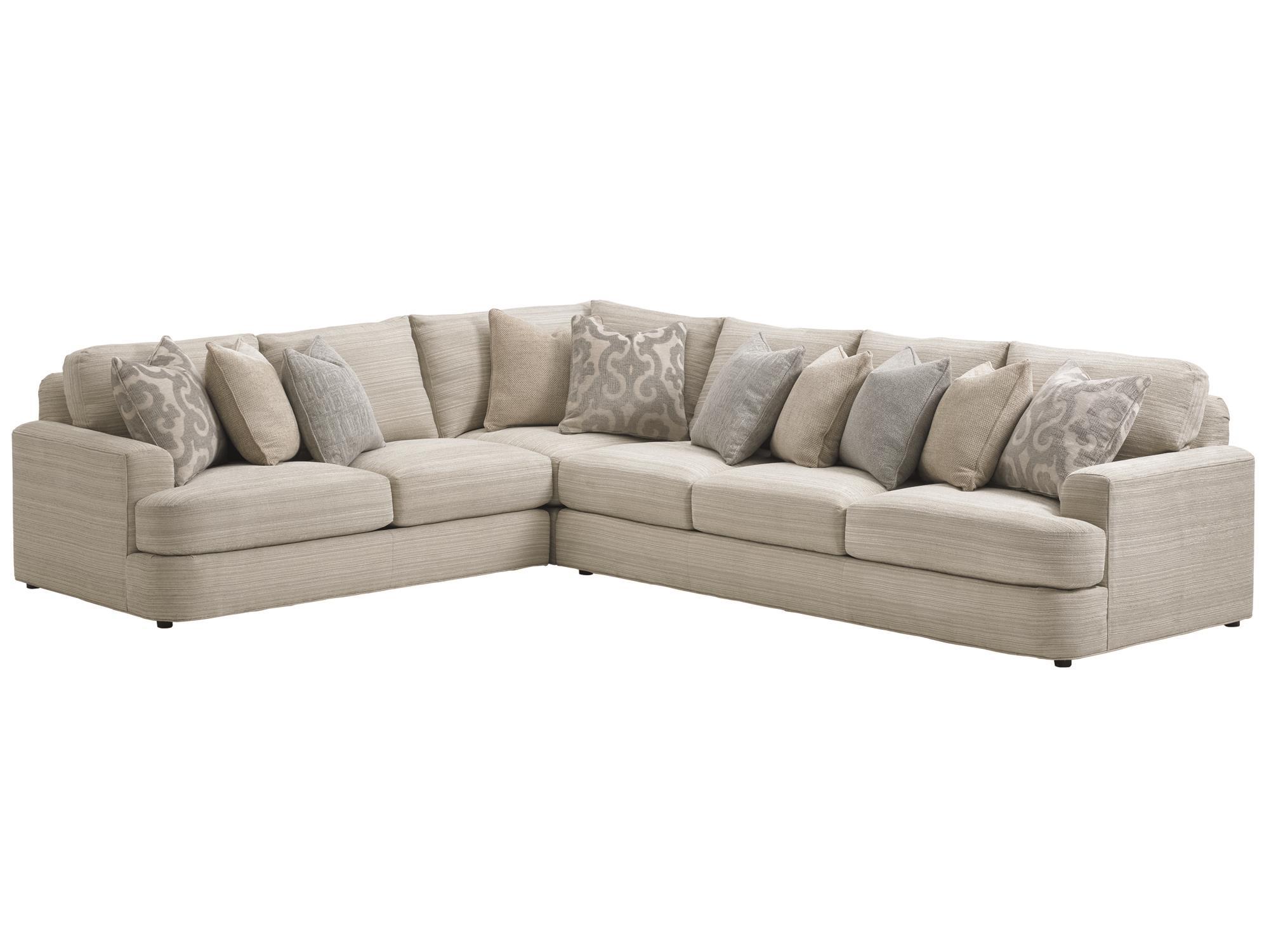 lexington sectional sofa havertys discontinued sofas laurel canyon halandale two piece