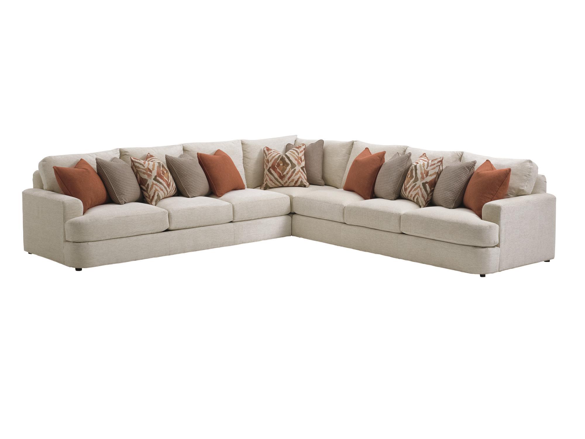 lexington sectional sofa cloth online laurel canyon halandale two piece