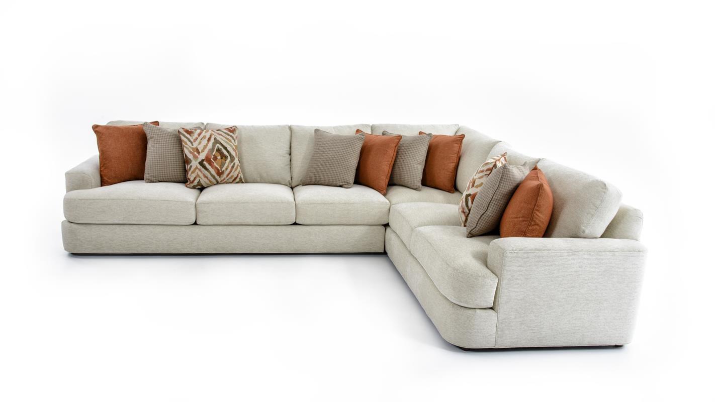 lexington sectional sofa stealasofa laurel canyon 7945 sect halandale two piece