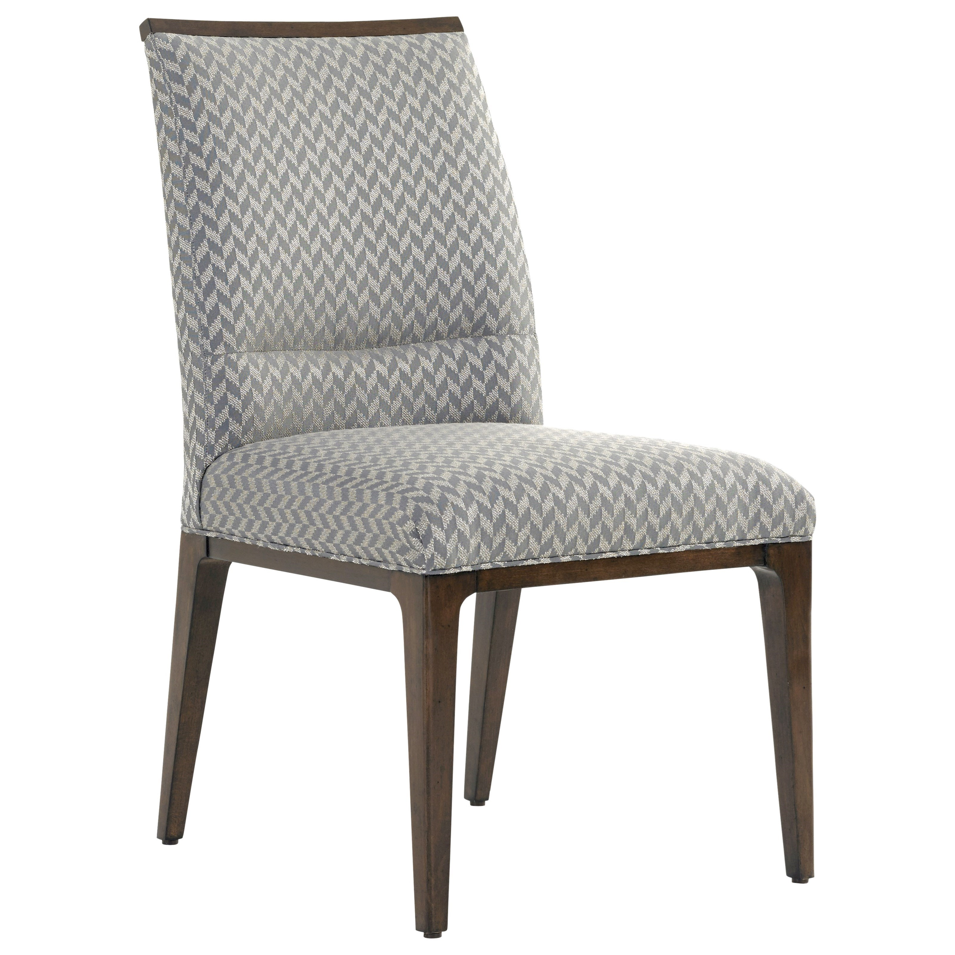 lexington dining chairs desk chair locking wheels macarthur park collina upholstered side in