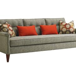 Tufted Leather Sofa With Rolled Arms Best Manufacturers In Italy Lexington Take Five 7780 33 Whitehall