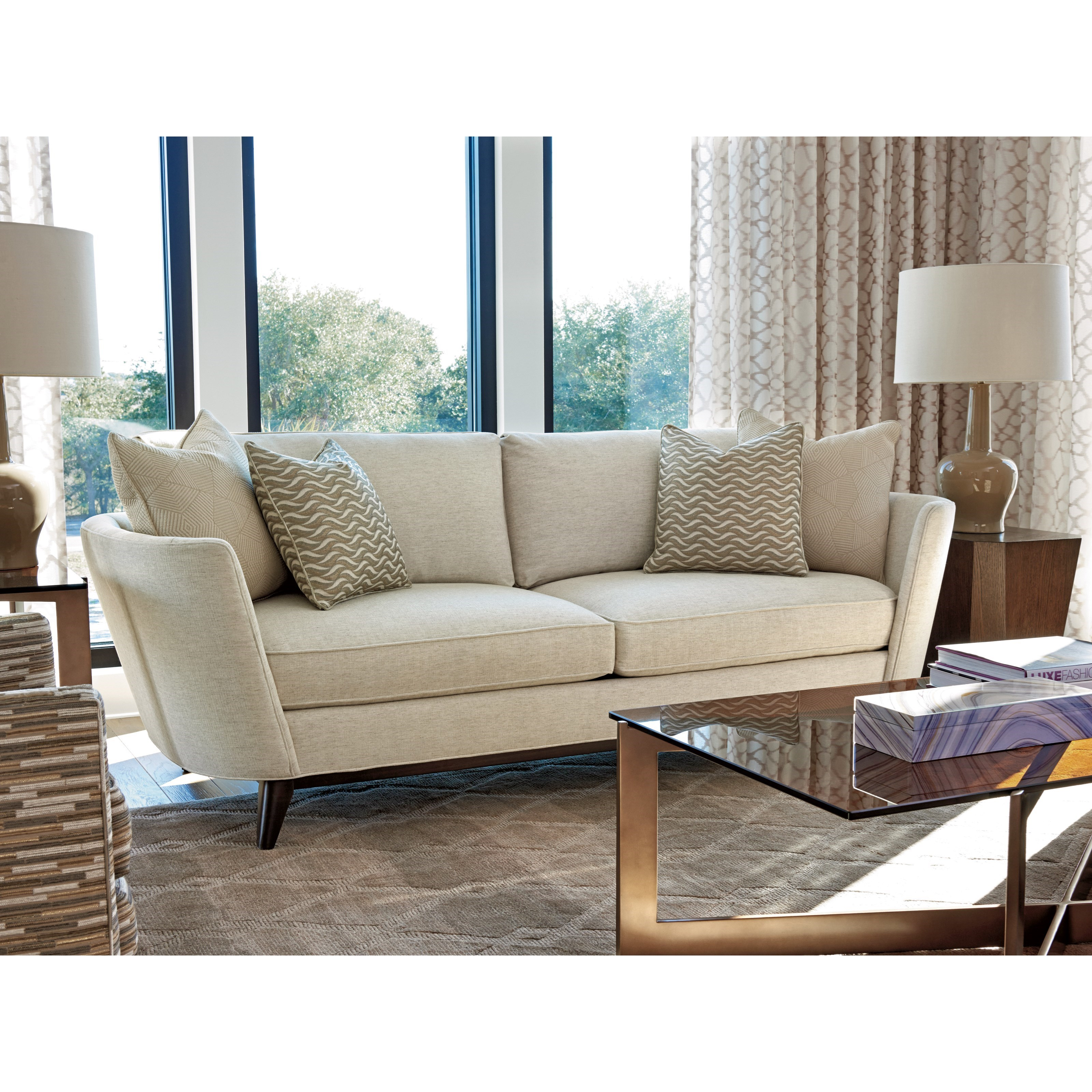 lexington sectional sofa mission style set zavala kahn modern belfort furniture sofas