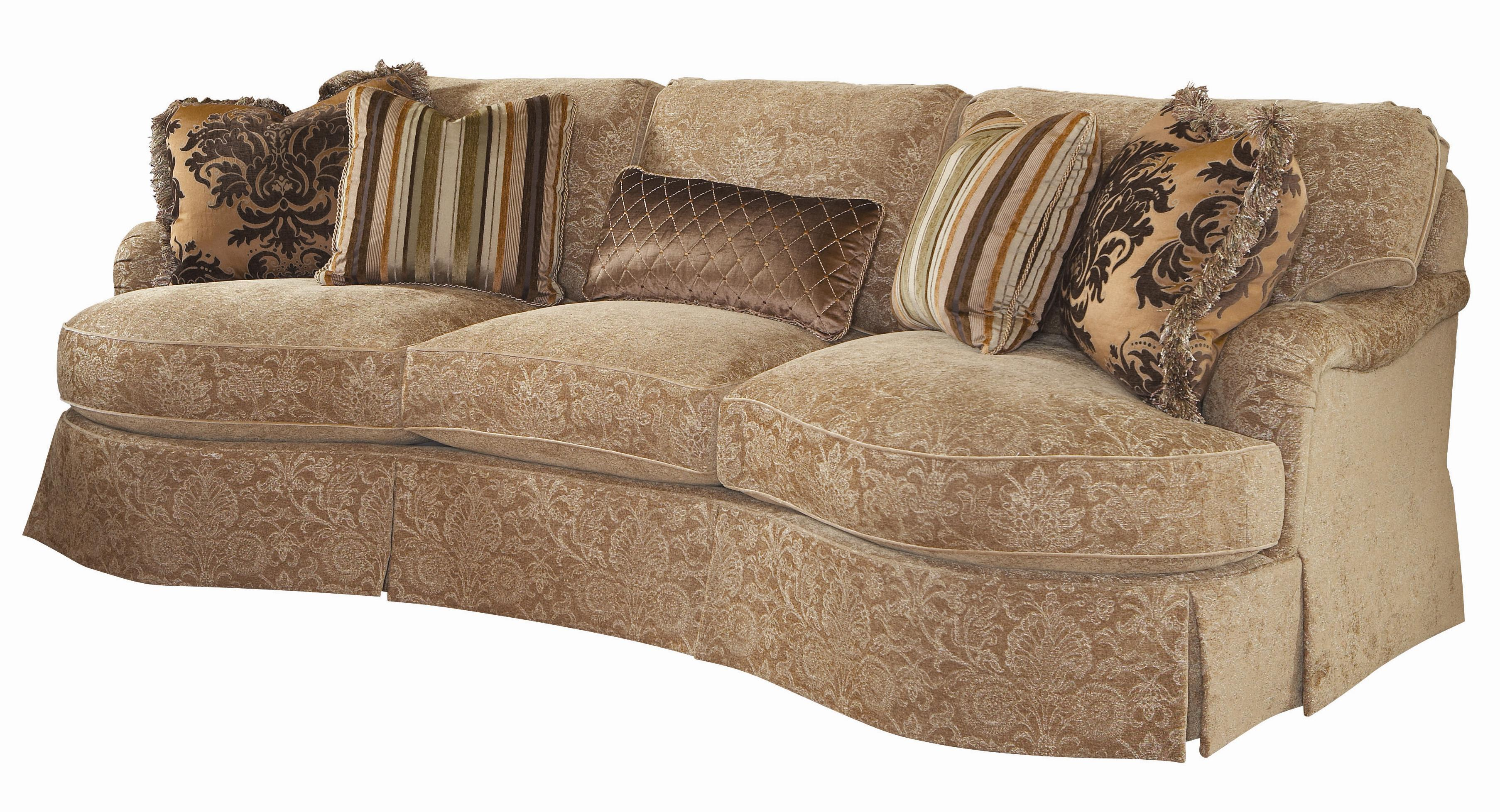 conversational sofa cover leather design living room lexington upholstery anderson loose back