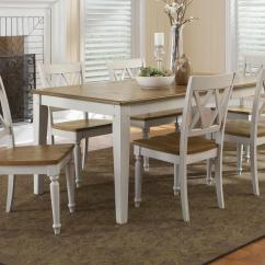 Al S Chairs And Tables Ikea Slipcover Chair Liberty Furniture Fresco Iii Seven Piece Rectangular