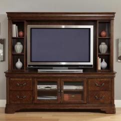 Chair Stand Unit Ashley Swivel Liberty Furniture Alexandria 722 Ent Enc Entertainment Tv