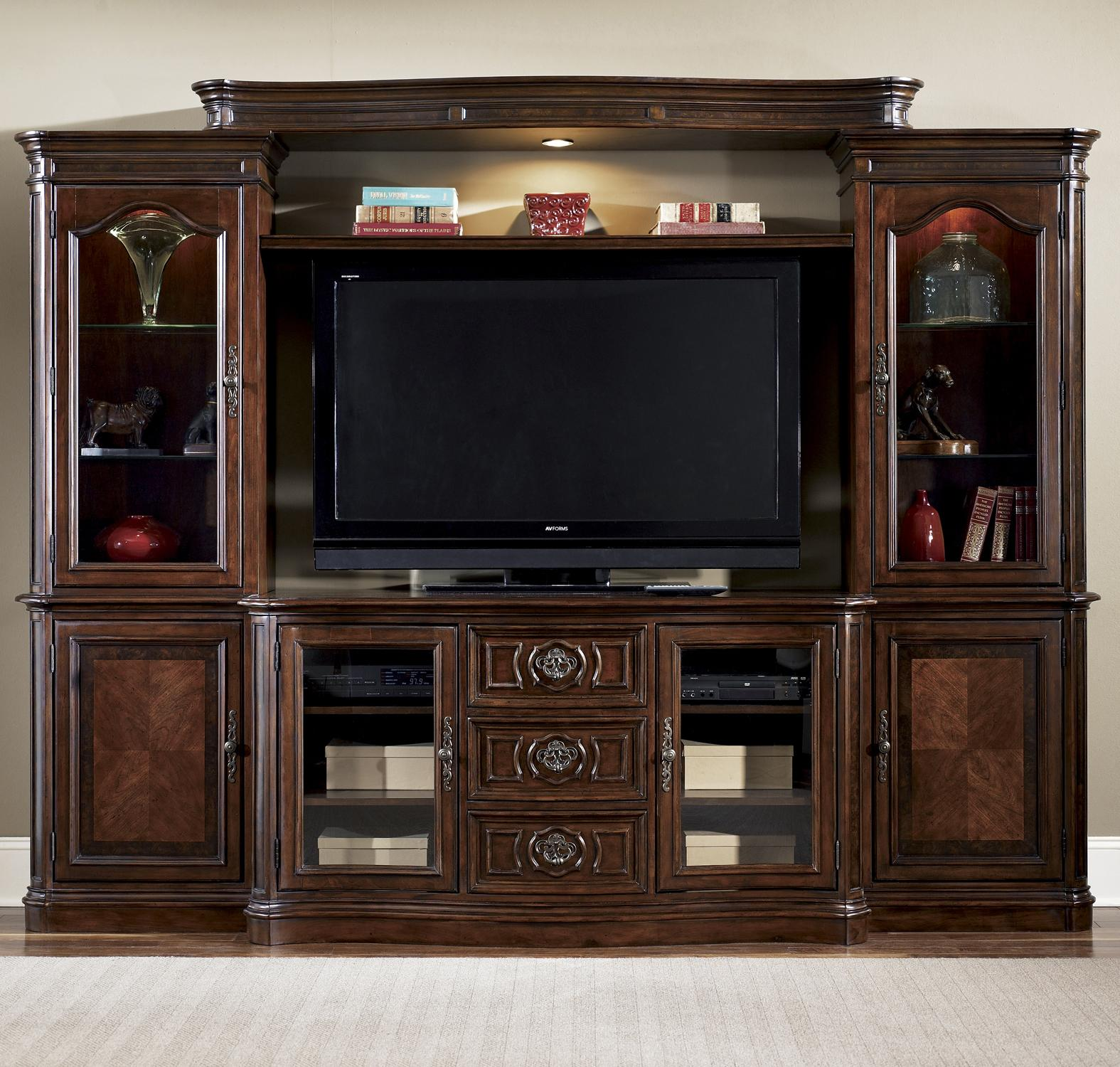 Liberty Furniture Andalusia Entertainment Center Wall Unit Wayside Furniture Wall Unit